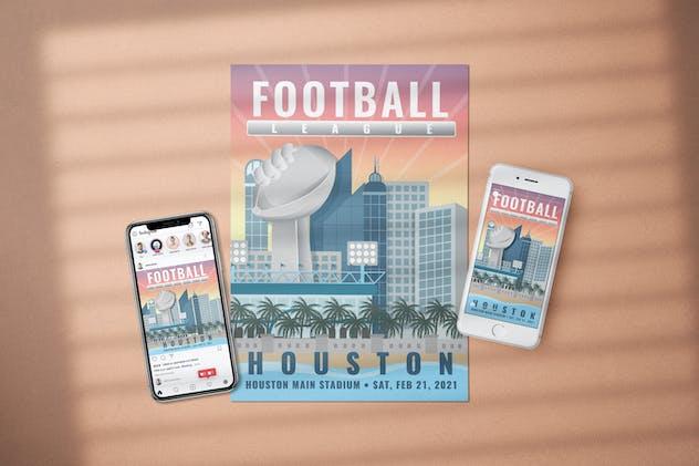 Football League - Flyer Media Kit