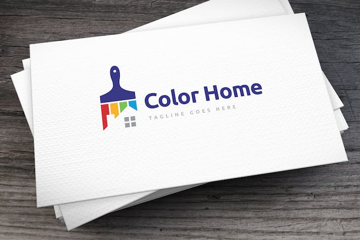 Thumbnail for Color Home Logo Template