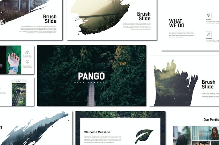 Thumbnail for Pango | Keynote Templates