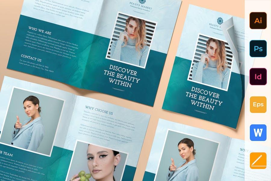 Beauty Market Brochure Bifold