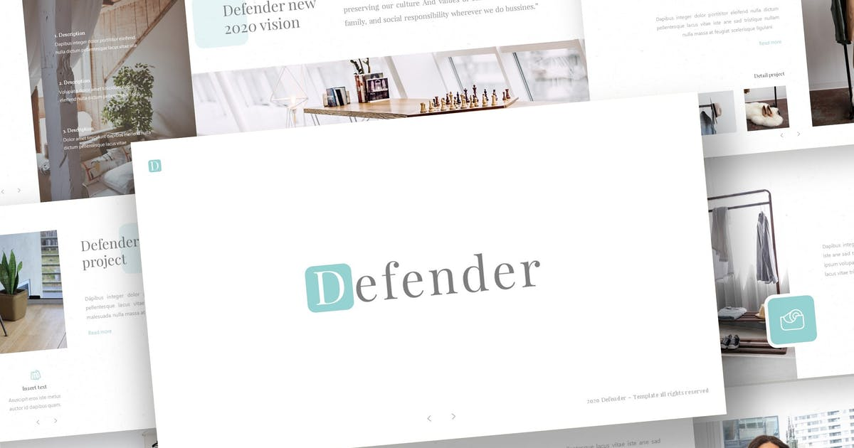 Download Defender - Powerpoint Template by inspirasign