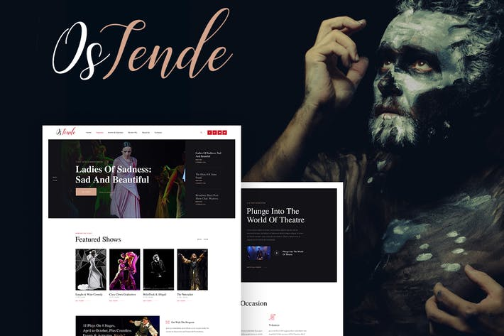 Thumbnail for OsTende - Theater WordPress Theme