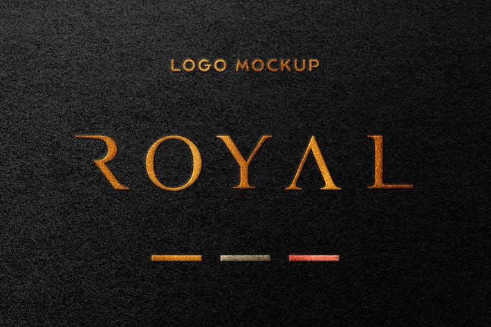 Thumbnail for Royal: Foil Stamping Logo Mockup