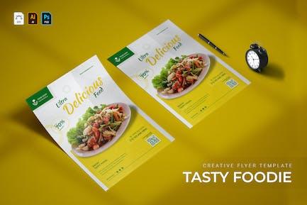 Tasty Foodie | Flyer