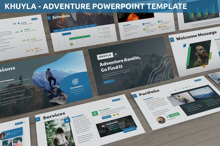 Cover Image For Khuyla - Adventure Powerpoint Template