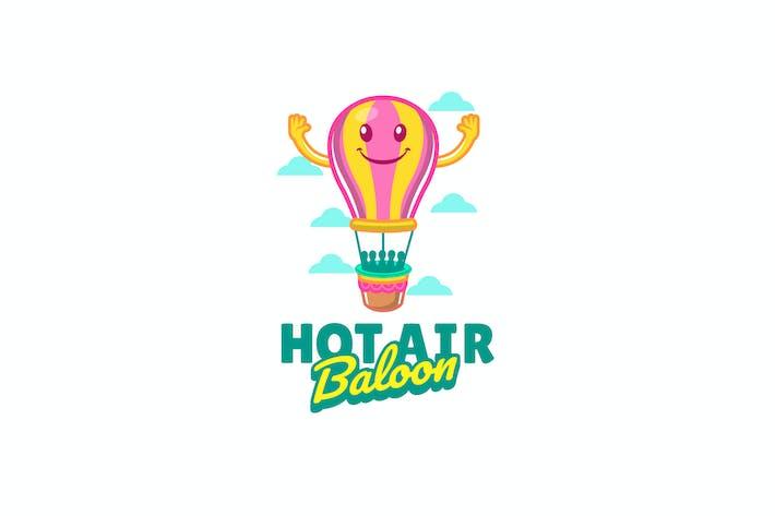 Thumbnail for hot air baloon - Mascot Logo