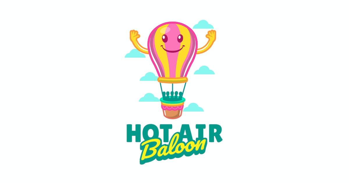 Download hot air baloon - Mascot Logo by aqrstudio