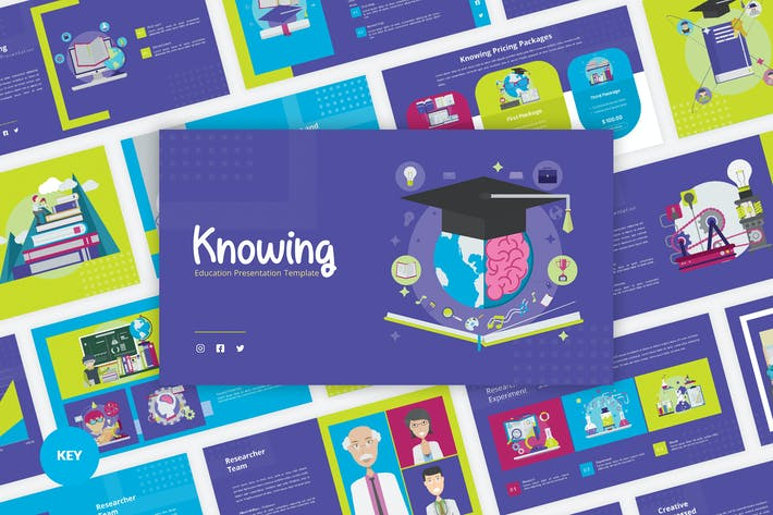 Thumbnail for Knowing - Education Keynote Template