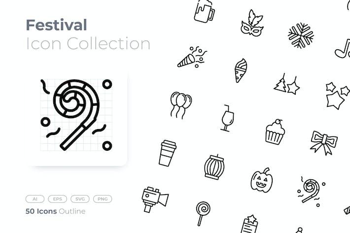 Thumbnail for Festival Outline Icon