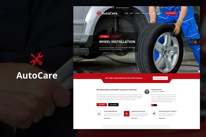 Thumbnail for Auto Care - Drupal Theme for Car Mechanic