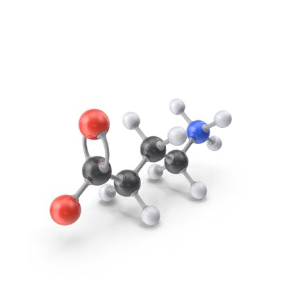 Гамма аминомасляная кислота циттерион Молекула