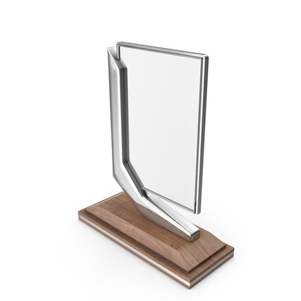 Acrylic Award Silver
