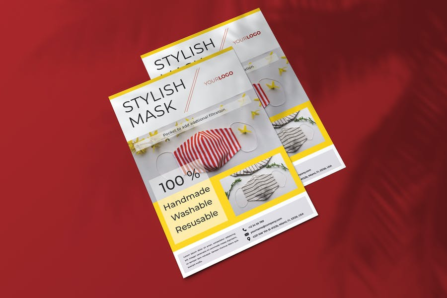 Stylish Mask Flyer