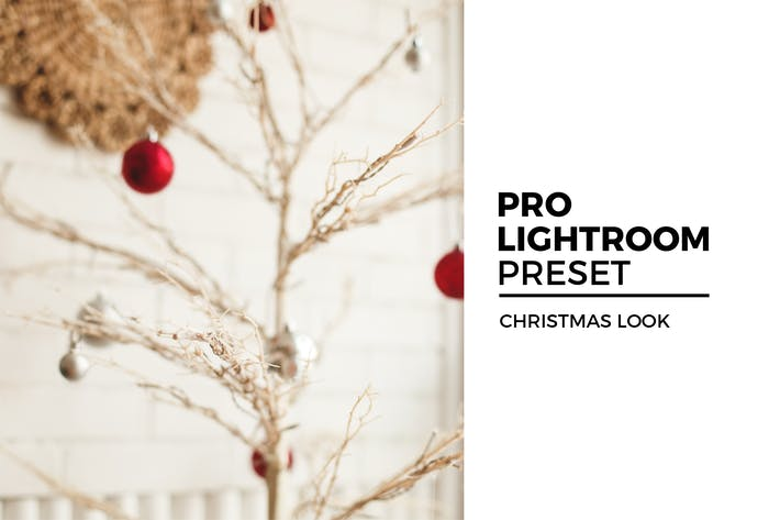 Thumbnail for Christmas Look Lightroom Preset