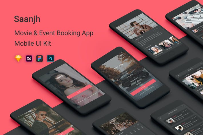 Thumbnail for Saanjh - Movie & Event Booking UI Kit