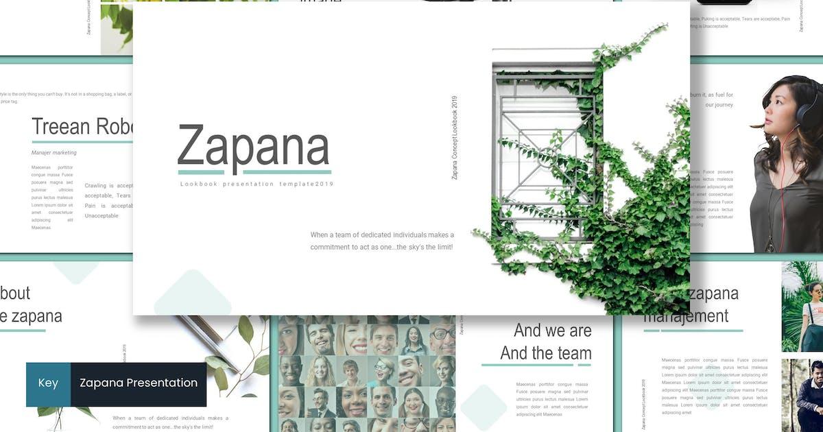 Download Zapana - Keynote Template by inspirasign