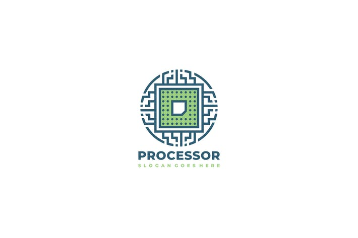 Thumbnail for Processor Logo Template