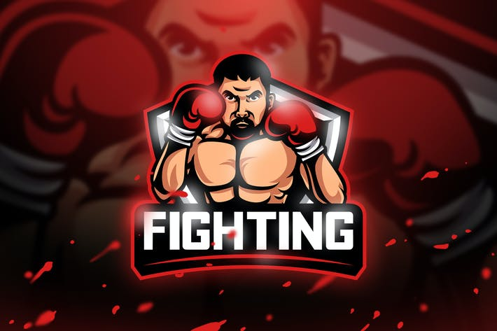 Thumbnail for Fighting - Mascot & Esport Logo