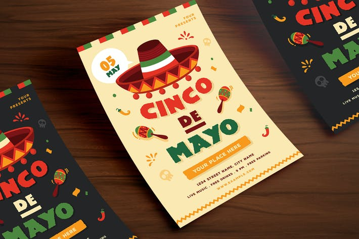 Thumbnail for Cinco De Mayo Flyer 01