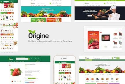 Origine - Organic Prestashop Theme