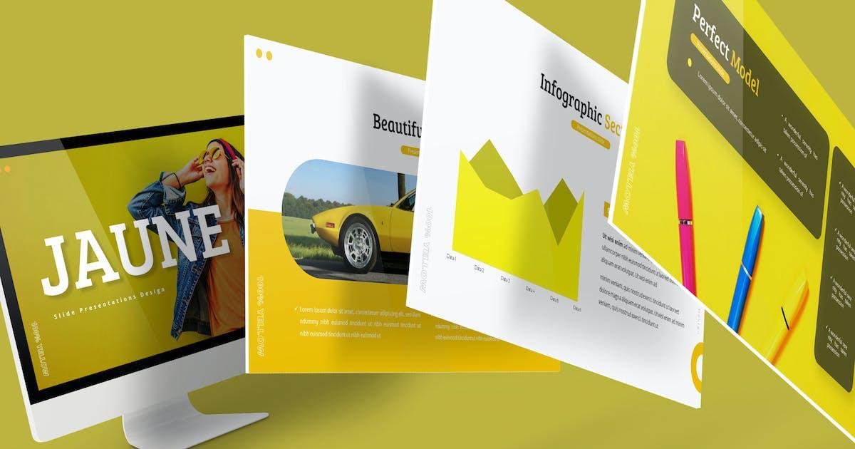 Download Jaune - Presentation Template by aqrstudio