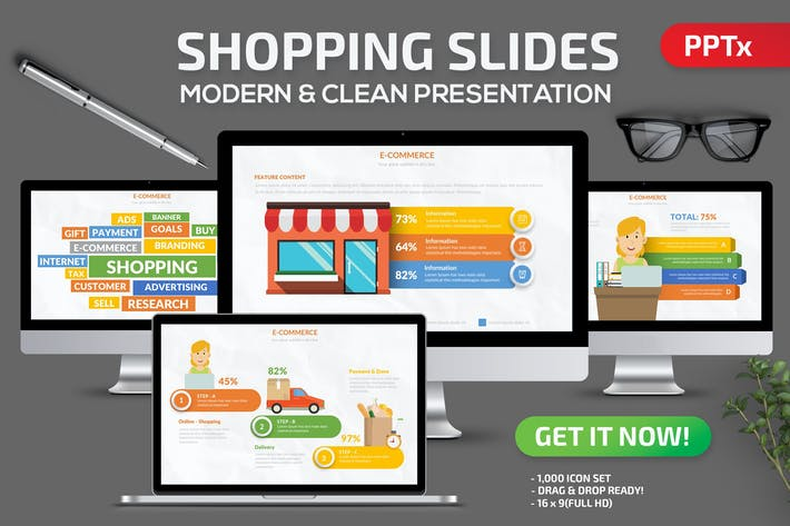Shopping Powerpoint Presentation