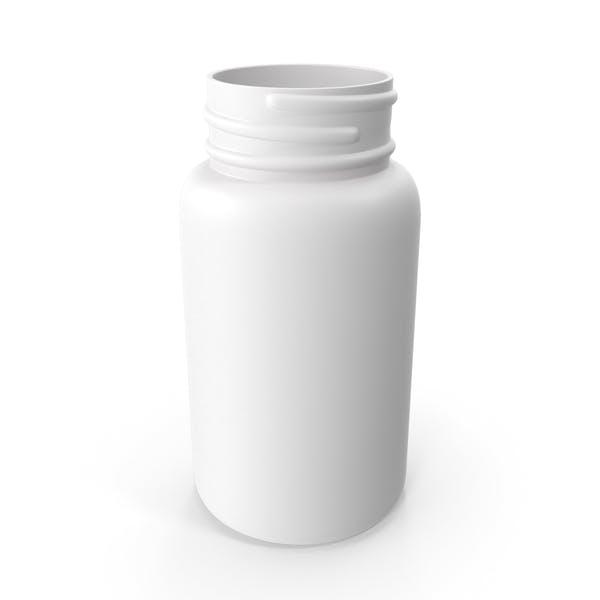 Пластиковая бутылка Pharma круглый 500 мл без крышки