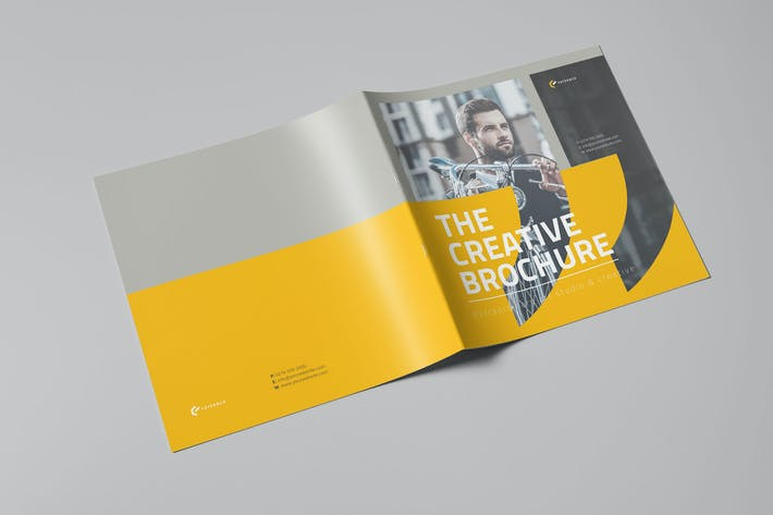 Cover Image For The Creative Brochure Vol.5 - Square