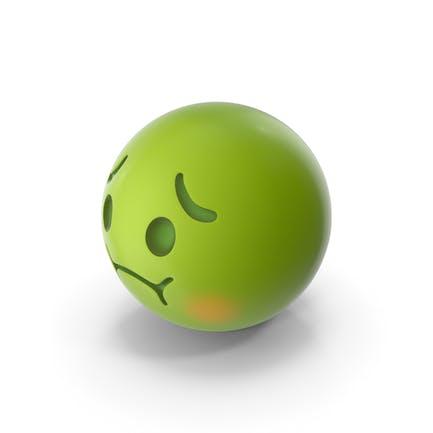 Cara Nauseada Emoji