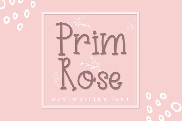Прим Роуз - Прекрасная рукописная
