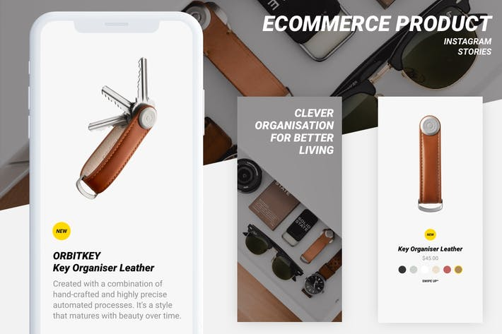 Thumbnail for E-Commerce-Instagram-StoryVorlagen