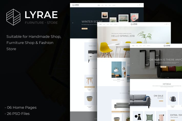 Thumbnail for Lyrae - Furniture Store and Handmade Shop