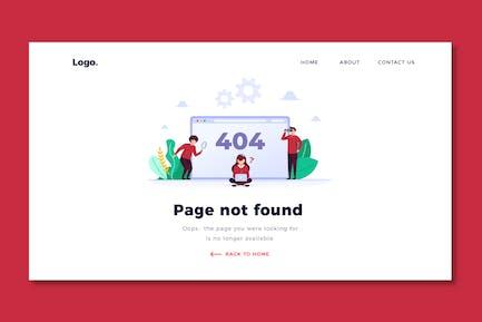 Error 404 - Web Header