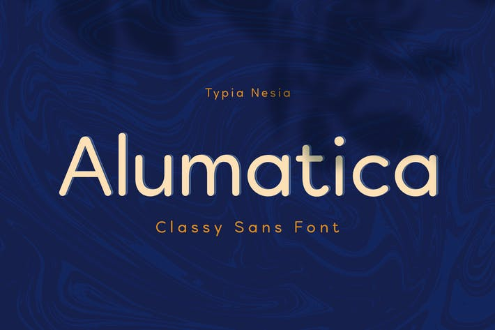 Thumbnail for Alumatica - Rounded Sans