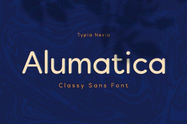 Thumbnail for Alumatica - Sans Arrondi