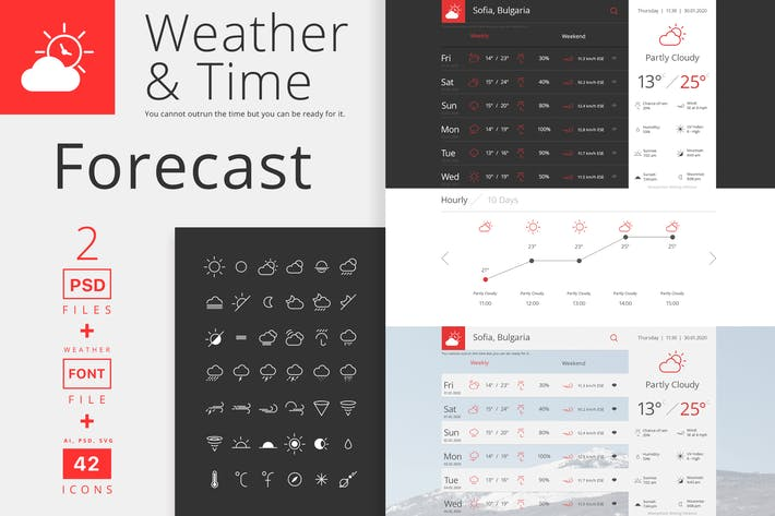 Thumbnail for Weather and Time Weather Forecast