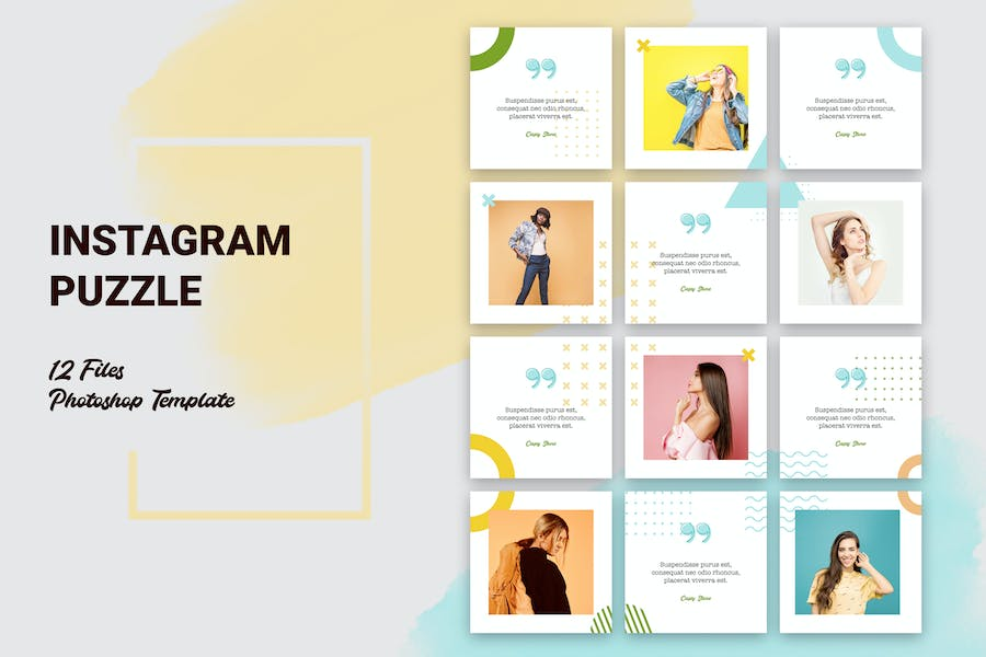 Instagram Puzzle Fashion - product preview 0
