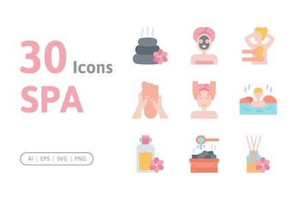 30 Spa Icons