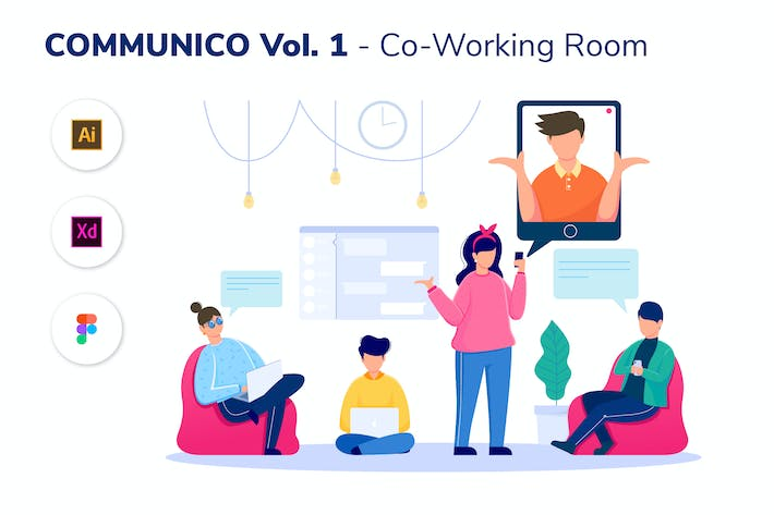 Thumbnail for COMMUNICO VOL. 2 - Co-Working Room