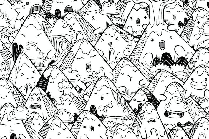 Doodle Montagne