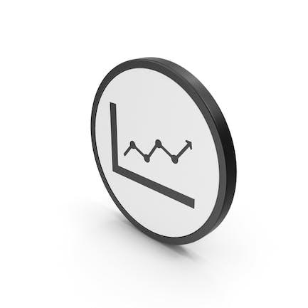 Symboldiagramm nach oben