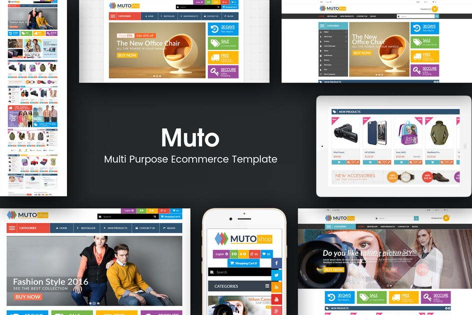 Download Muto - Mega Shop Responsive Opencart Theme by posthemes