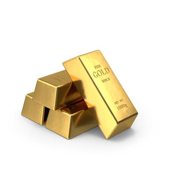 Gold Bars Pile