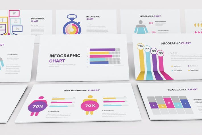 Thumbnail for Chart Infographic Google Slides Template