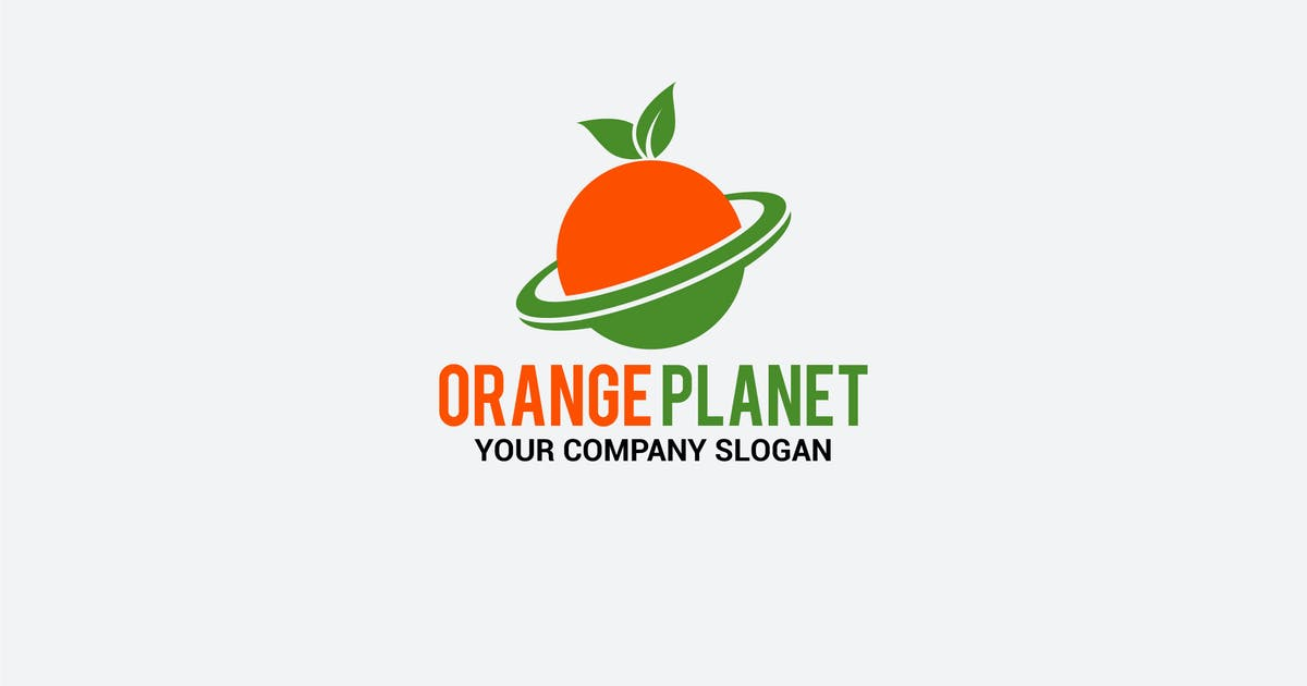 Download orange planet by shazidesigns