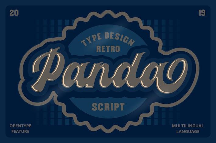 Thumbnail for Panda Script Font
