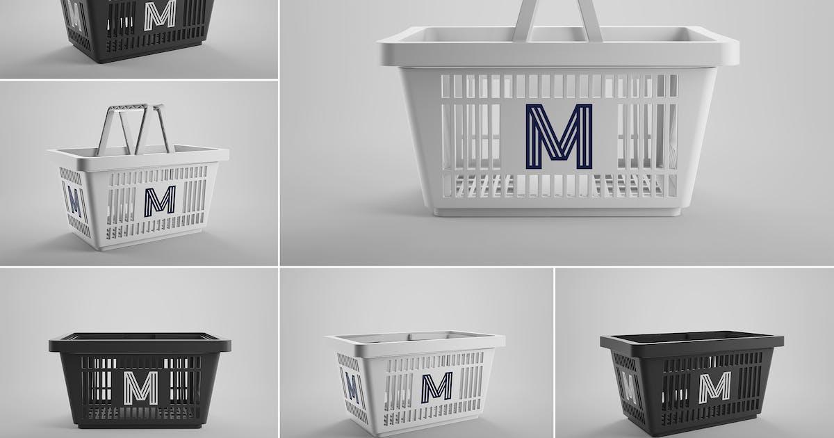 Download Shopping Basket Mockups Vol. 1 by MintMockups