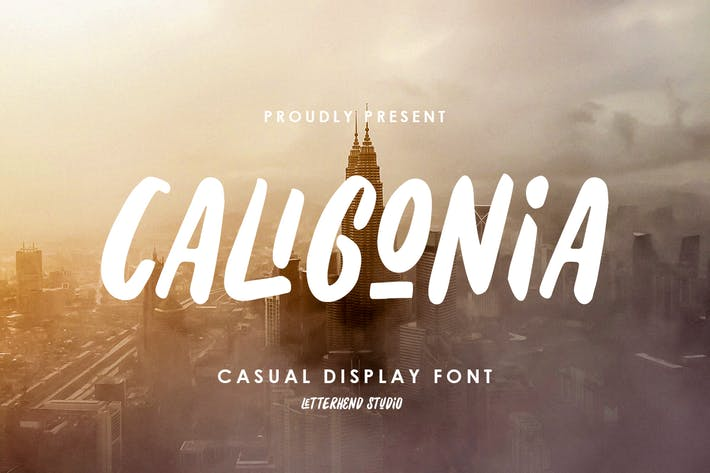 Thumbnail for Caligonia - Casual Display Typeface