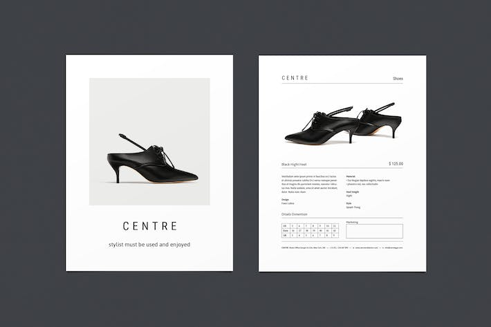 Thumbnail for CENTRE - Fashion Flayer
