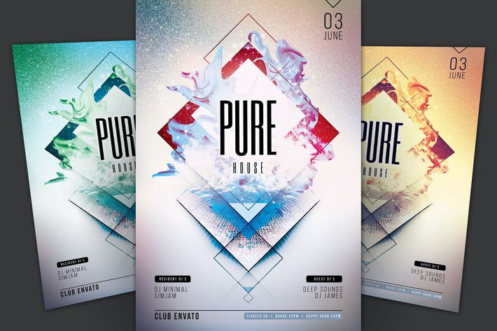 Thumbnail for Pure House Flyer